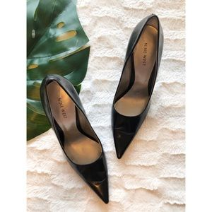 Nine West Honore Classic Black Pumps